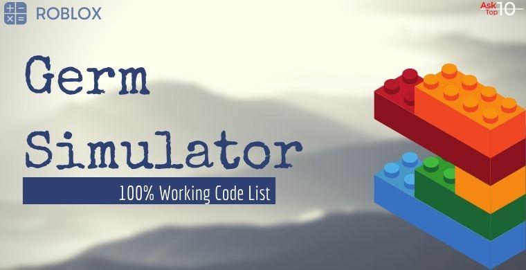 Germ Simulator Codes
