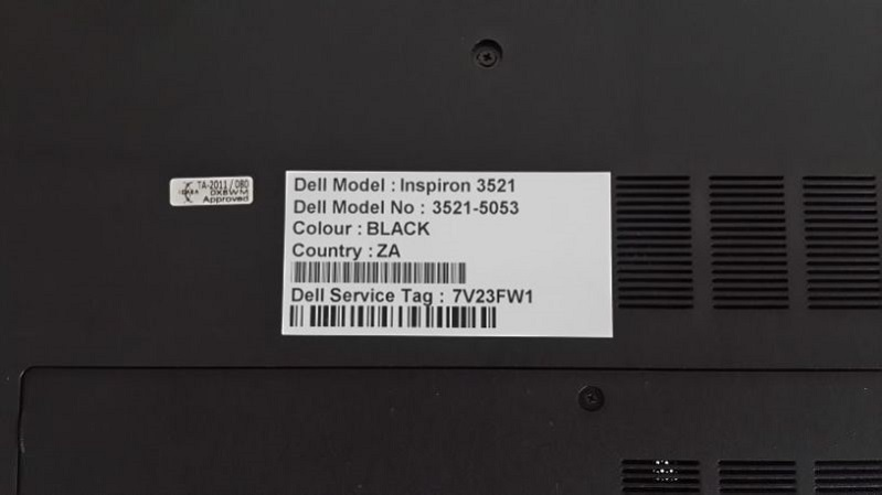 How to check Dell laptop warranty status
