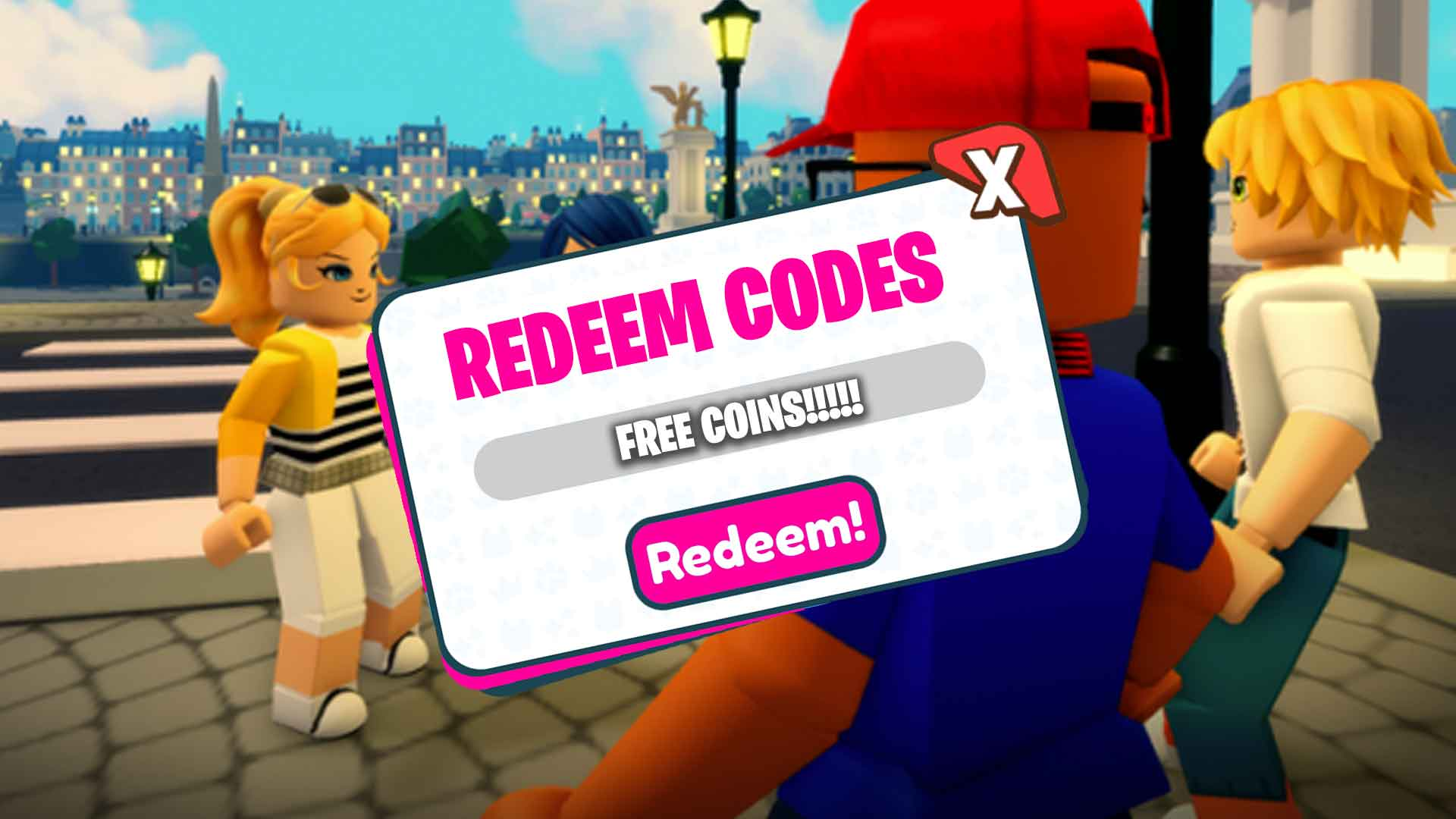 Miraculous RP Codes