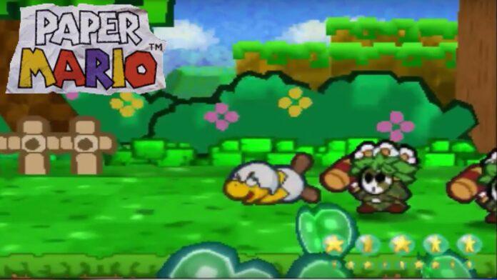 Paper Mario Pro Mode
