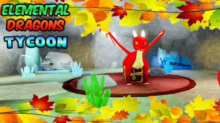 Elemental Dragons Tycoon Codes