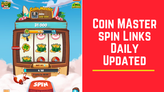 Coin Master Free Spins Link Today New