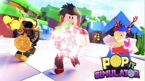 Roblox Pop It Fidget Simulator