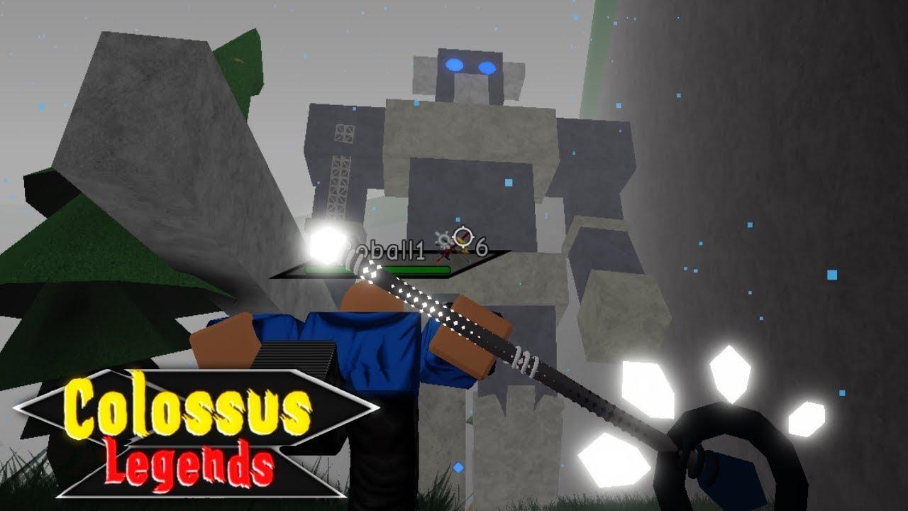 Colossus Legends Codes