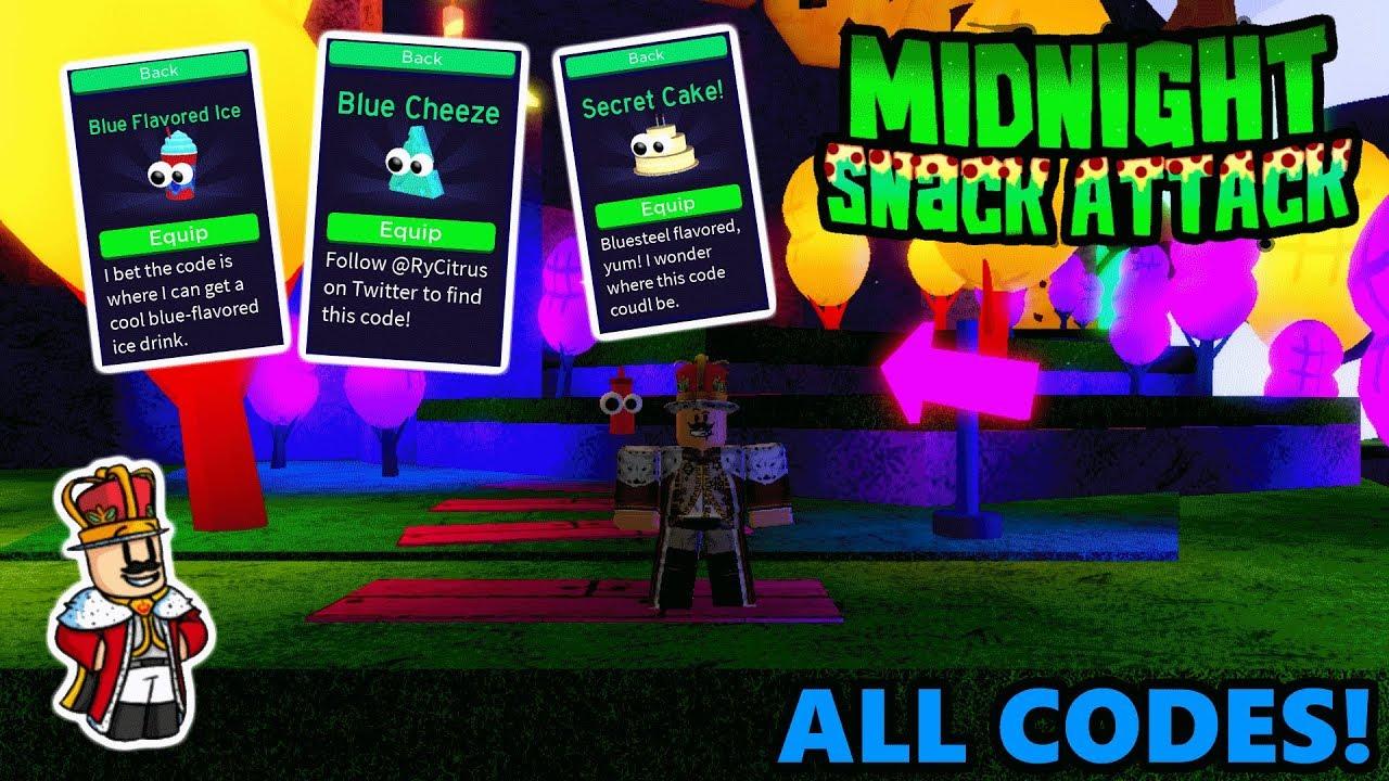 Midnight Snack Attack Codes