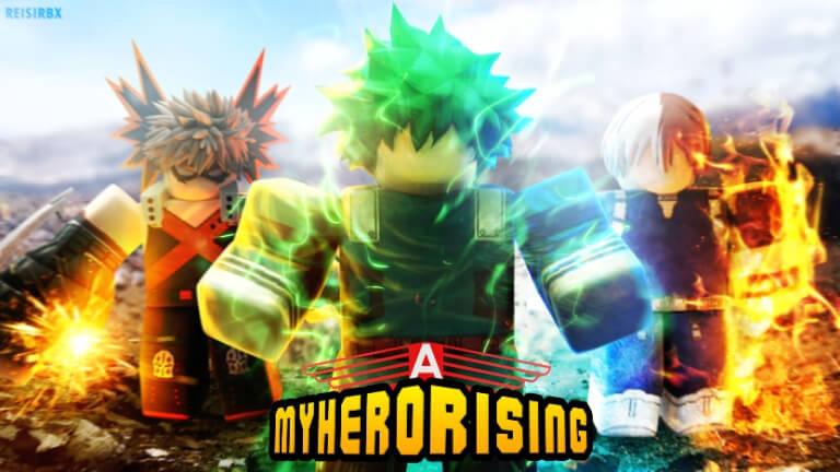 My Hero Rising Codes
