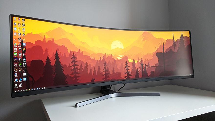 Samsung Gaming Monitor CRG9