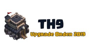 TH9 Upgrade Order